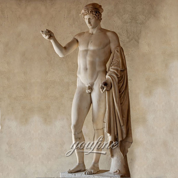 Best sculptures in the world life size marble hermes logios for sale