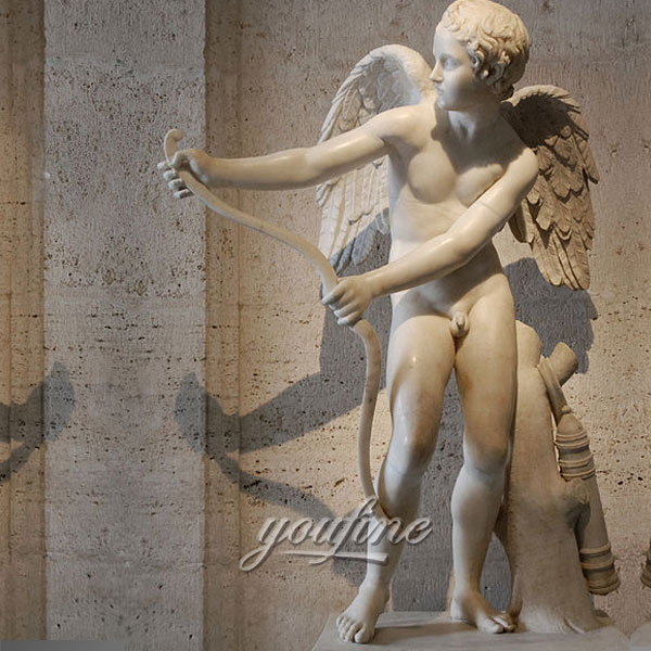 Famous art Indoor Cupid angel statue for sale
