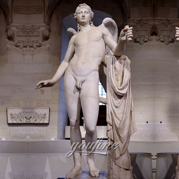 Famous art Statues of Eros known as The Genie of Borghese for sale