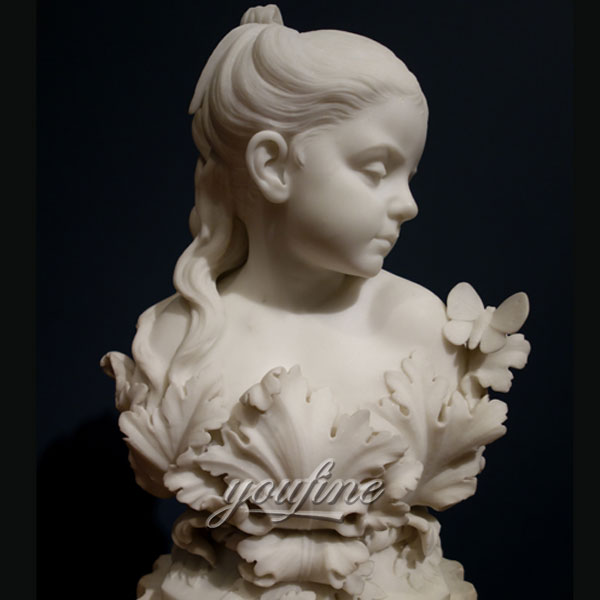 Famous art sculpture of Psyche daughter or The Infant Psyche by Randolph Rogers for sale