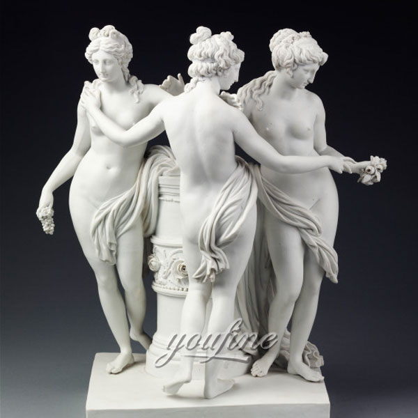 Famous art sculptures life size The Three Graces new design for sale