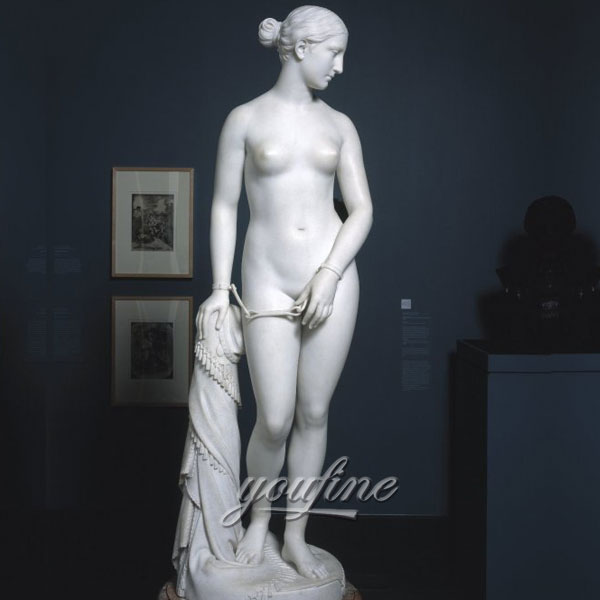 Famous sculptures in rome life size The Greek Slave for sale
