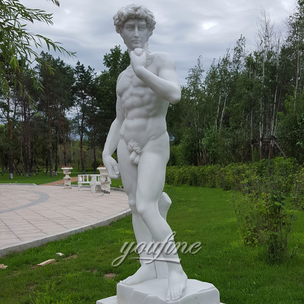 Famous statue in the world of life size David for garden decoration