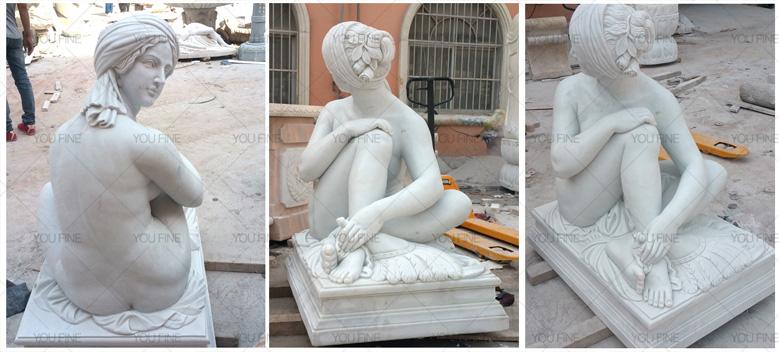 Odalisque sculpture Odalisque sculpture