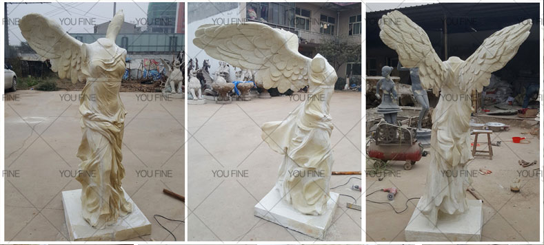 Famous art sculptures reproduction winged victory of samothrace