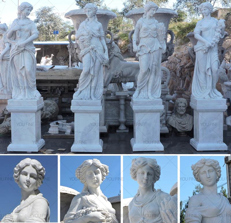 Goddesses of the Four Seasons