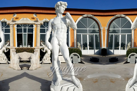 Famous art sculptures reproductions David statue